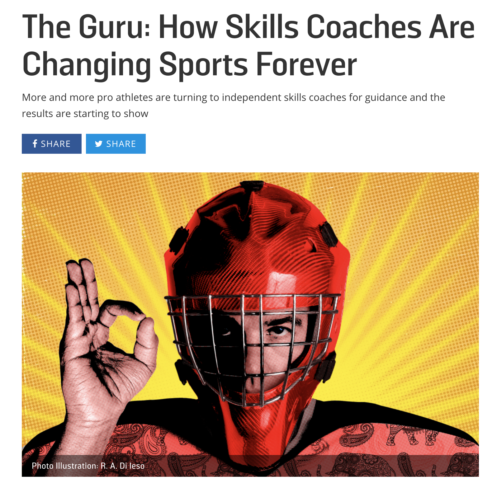 The Guru: How Skills Coaches Are Changing Sports Forever